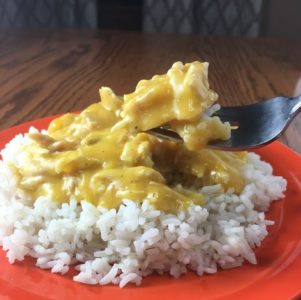 Crock Pot Cheese Chicken and Rice