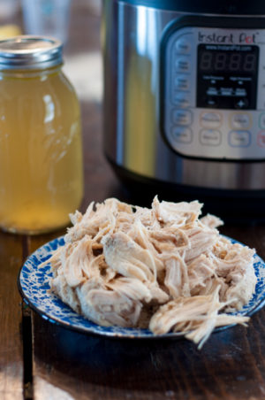 Instant Pot Freezer Meal Shredded Chicken