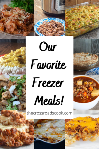 Our Favorite Freezer Meals