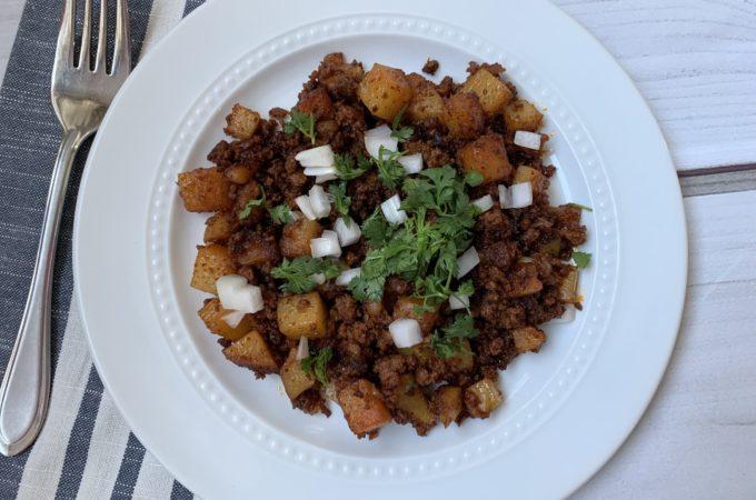 Chorizo and Potato Hash